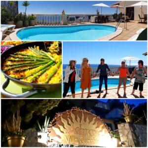 Work Away Community Living-Dela solljus, ekoliv och god hälsa tillsammans med likasinnade i liten grupp @ Ashram Villa Sunshine Sitges/Barcelona