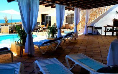 Large pool & BBQ terrace 1