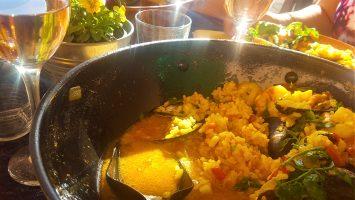 Mat och dryck 4Delicious Paella del Mar at Villa Sunshine